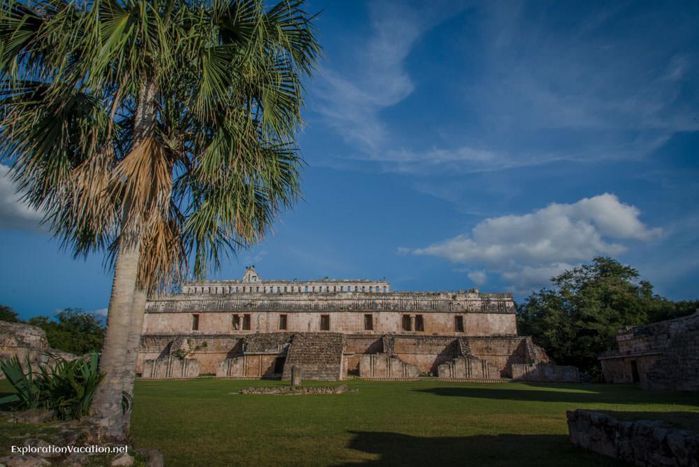 Kabah Mayan ruins in Mexico's Yucatan - ExplorationVacation.net