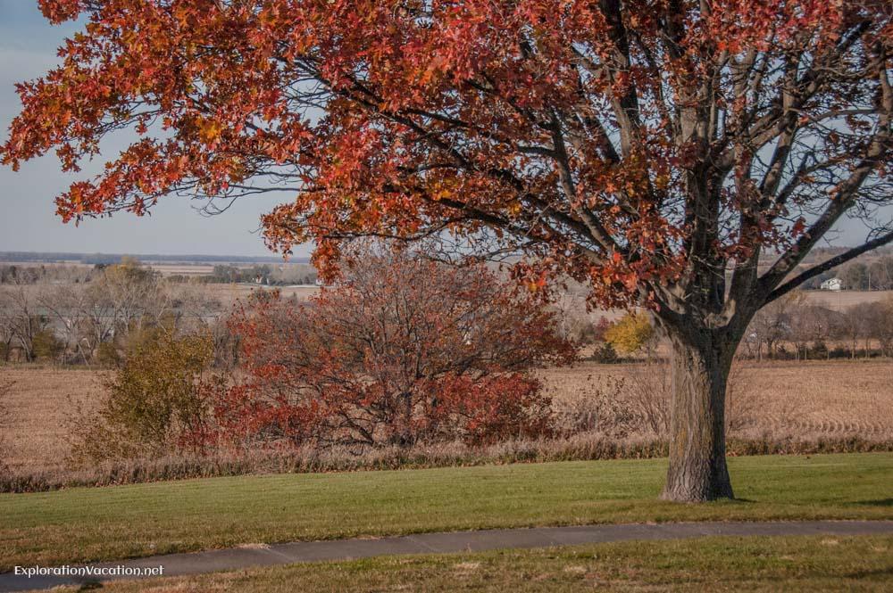 Melia Nebraska rest area - ExplorationVacation.net