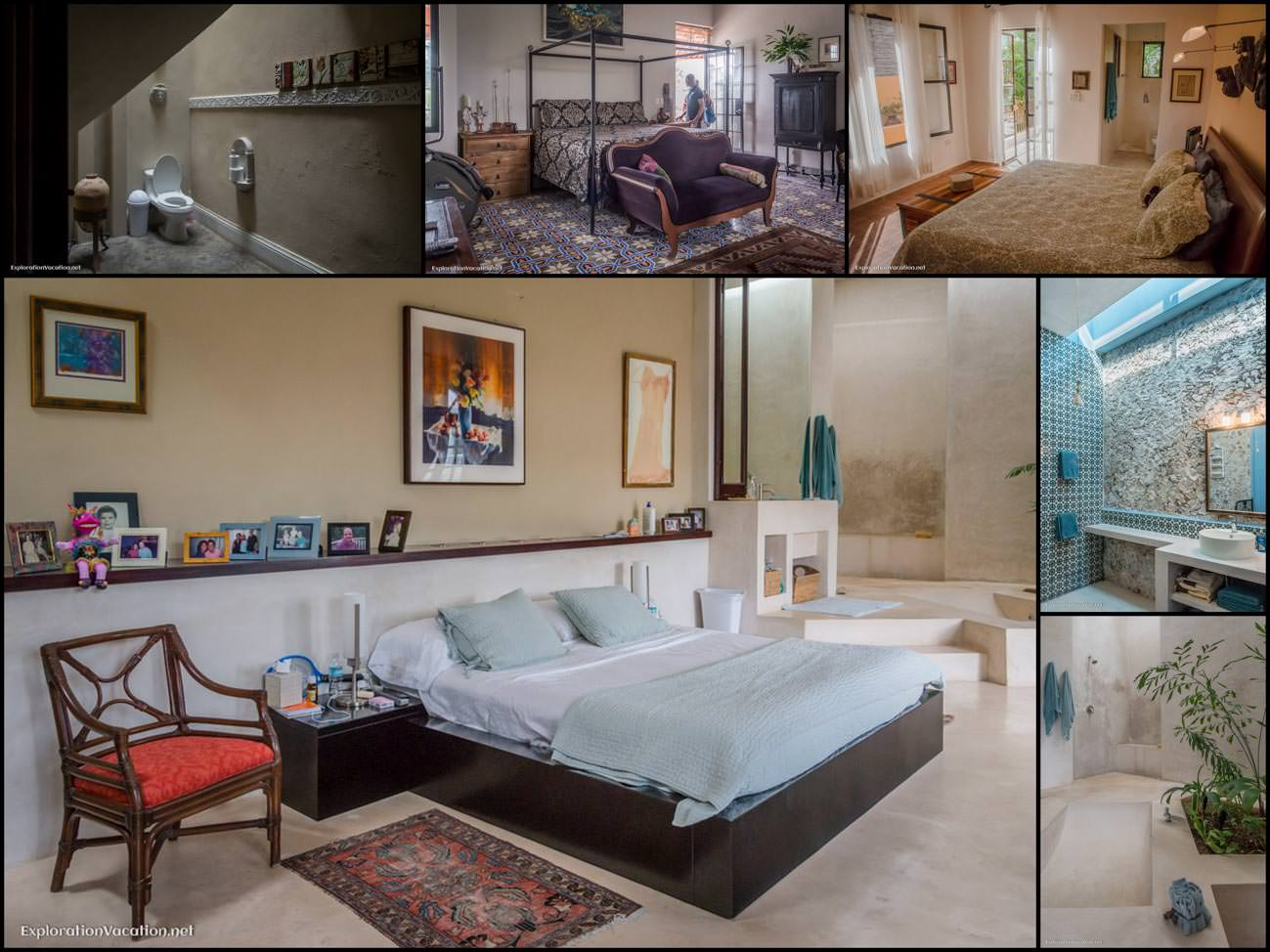 Merida Mexico house tour - 16 bed and bathrooms - ExplorationVacation