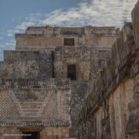 Uxmal Mayan ruins in Mexico's Yucatan