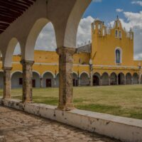 Convent and cathedral Izamal Mexico