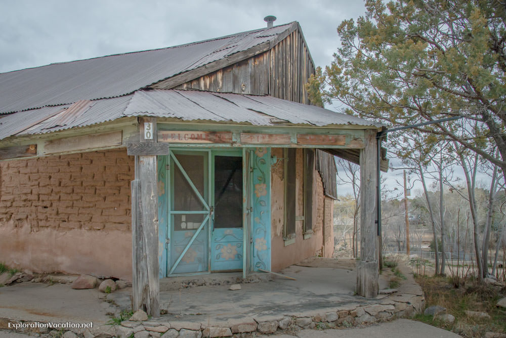 historic shop in Pinos Altos New Mexico