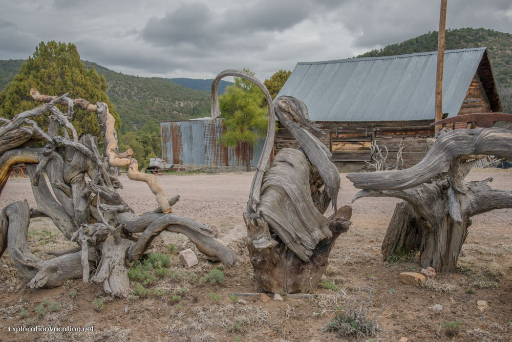 Old cars and more in Pinos Altos New Mexico - ExplorationVacation.net