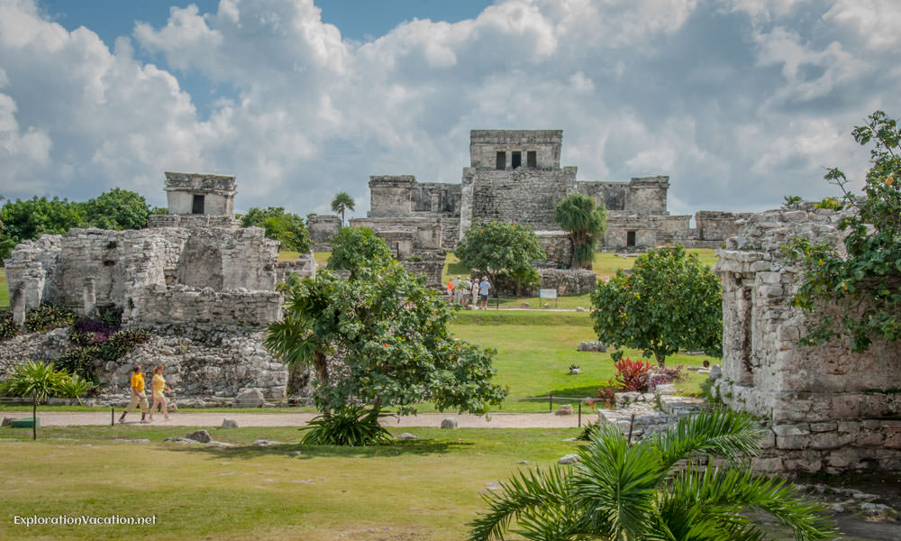 Mayan ruins of Tulum Mexico - ExplorationVacation.net