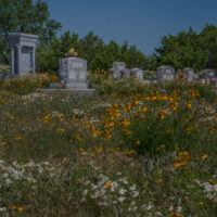 Cherry Hill church and cemetery Texas Hill Country - ExplorationVacation.net