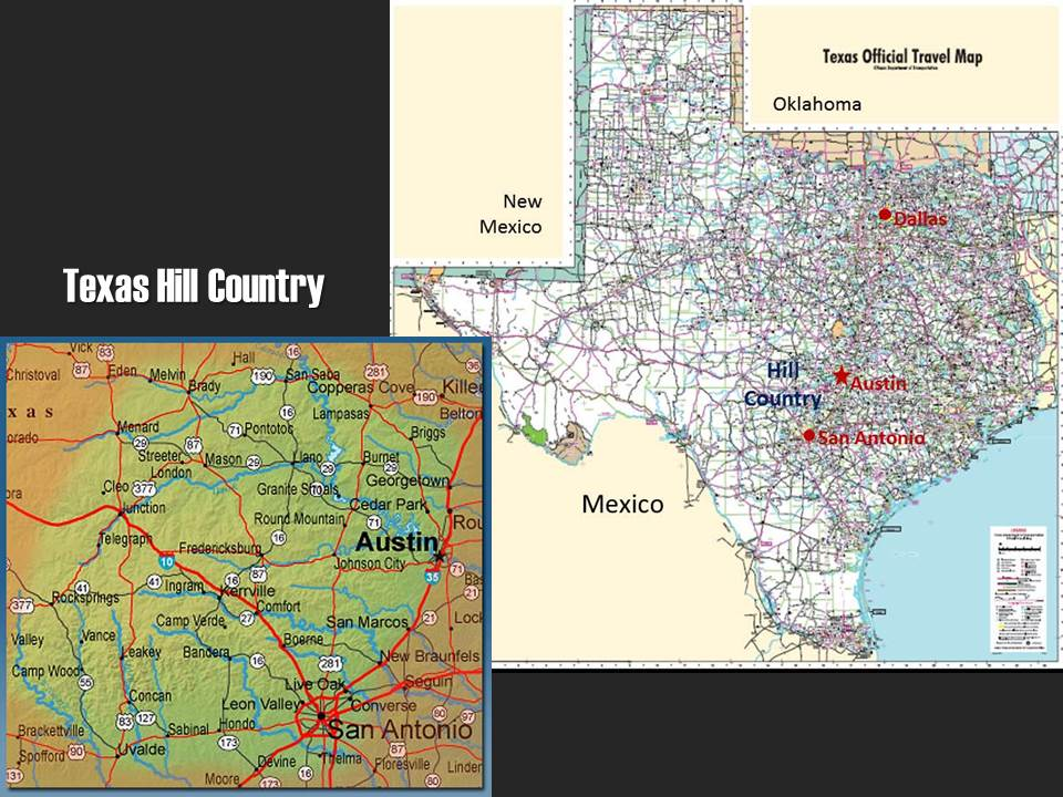 Map Of Texas Hill Country Cities.Exploring Texas Hill County Exploration Vacation