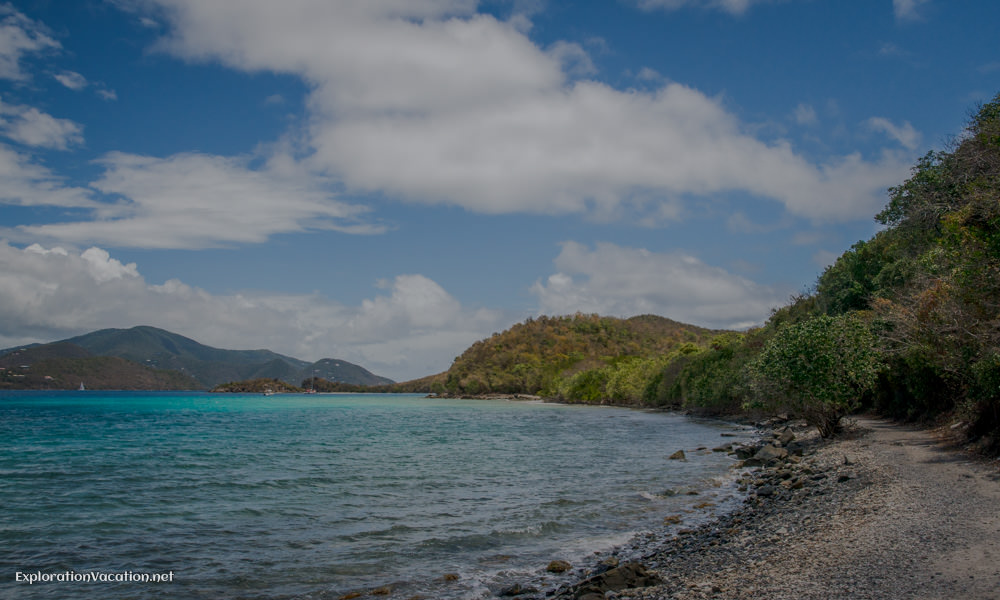 The trail to Leinster Bay on St John - ExplorationVacation.net