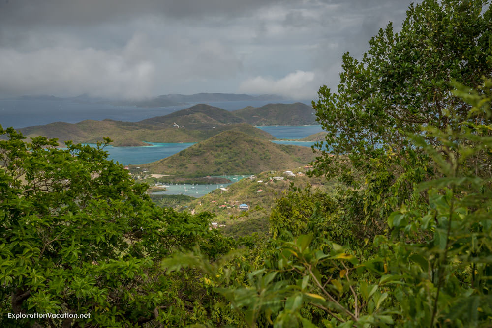 viewpoint on St John - ExplorationVacation.net