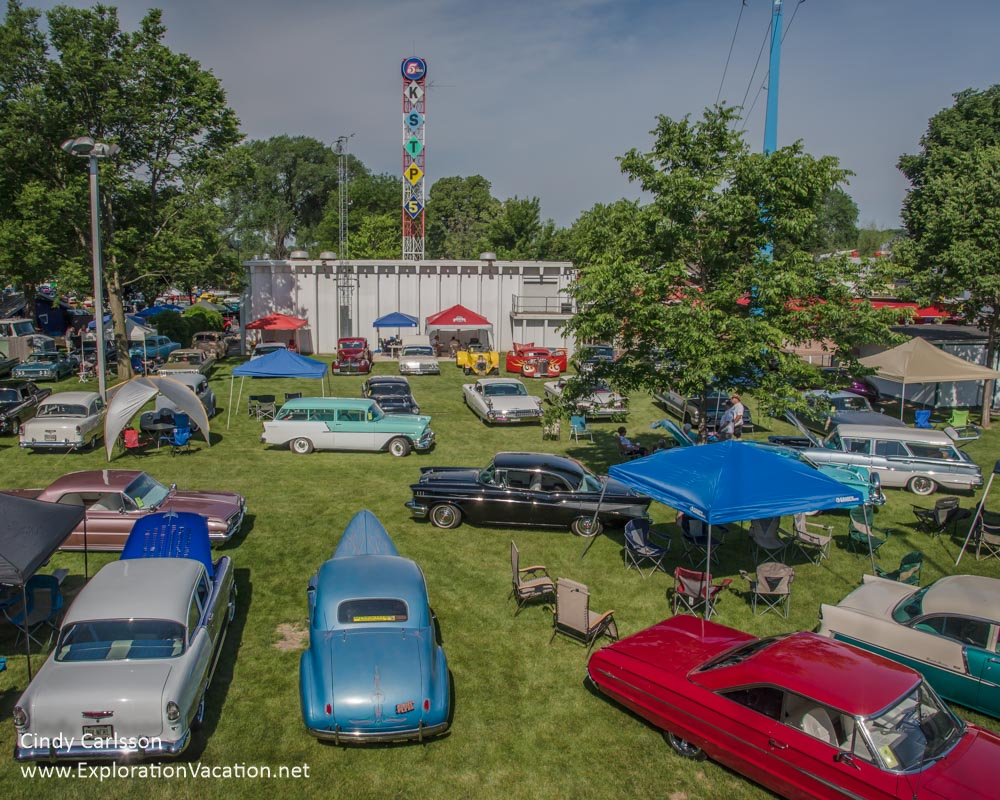 Back to the 50s car show - www.explorationvacation.net