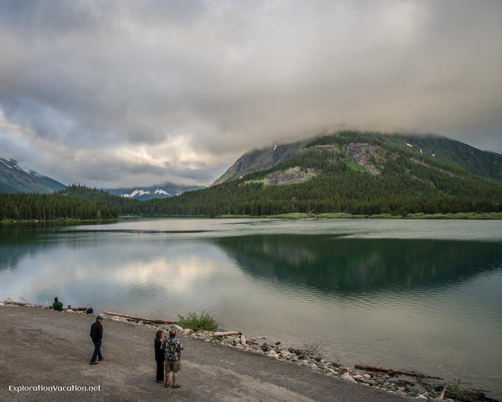 Sunrise at Many Glaciers Montana - ExplorationVacation