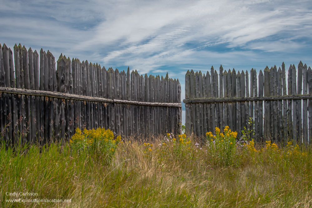 Stockade at Grand Portage Monument Minnesota
