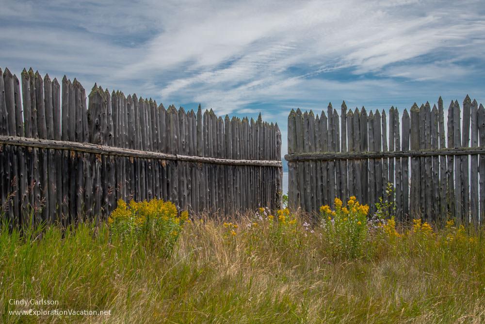 Stockade at Grand Portage Monument Minnesota