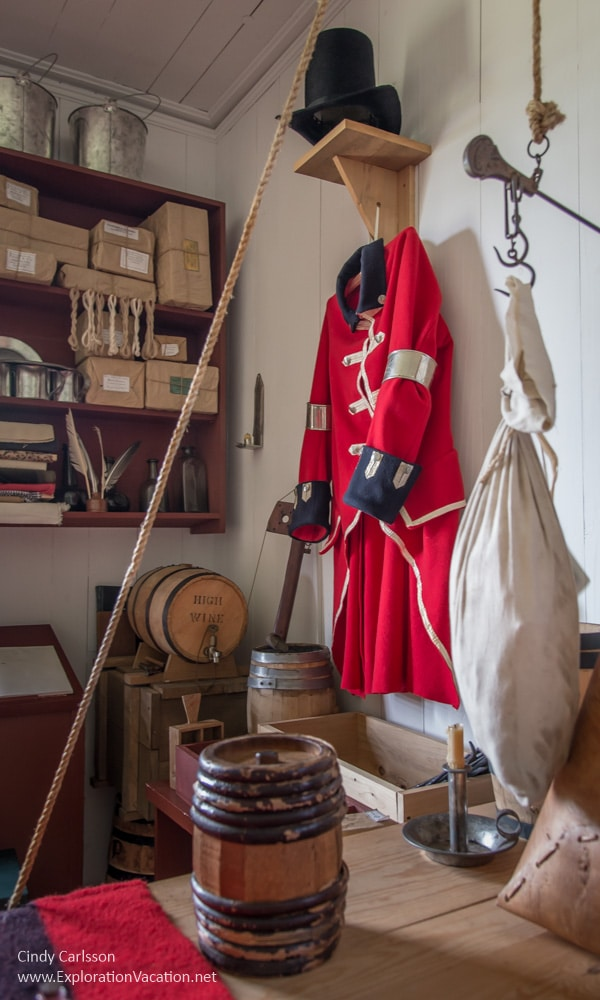 Military coat Great Hall Grand Portage Minnesota