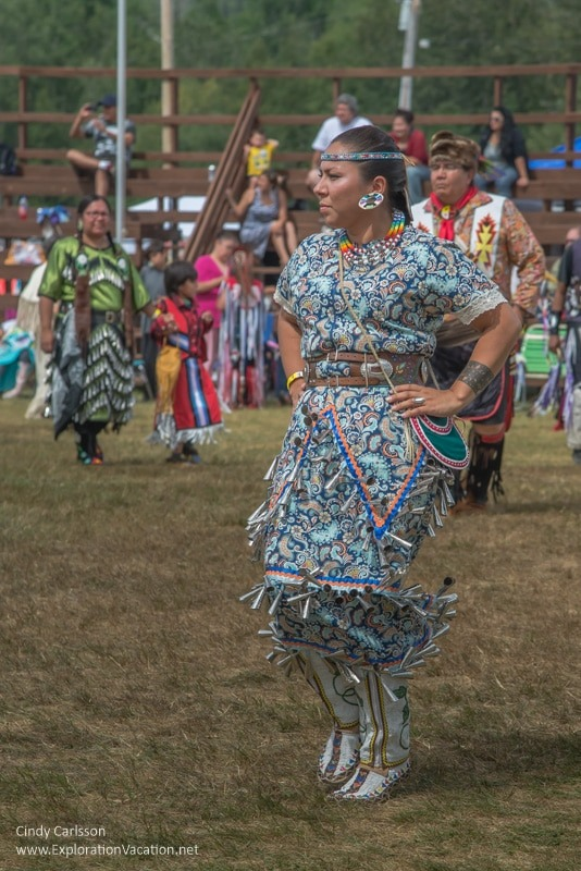 jingle dress dancer Grand Portage Powwow