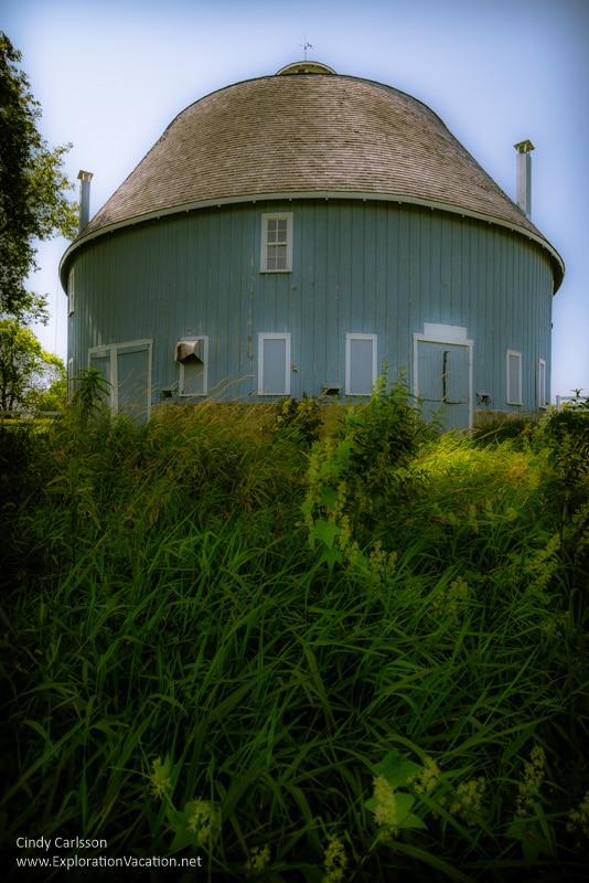 Moody round barn Chisago City Minnesota
