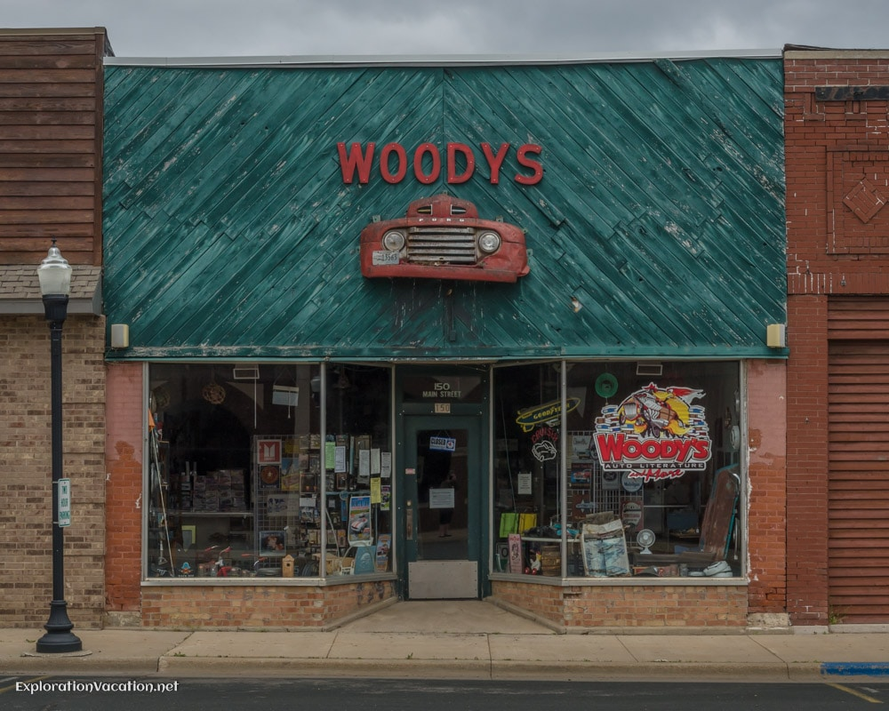 Woody's Automotive Literature and More in West Concord Minnesota