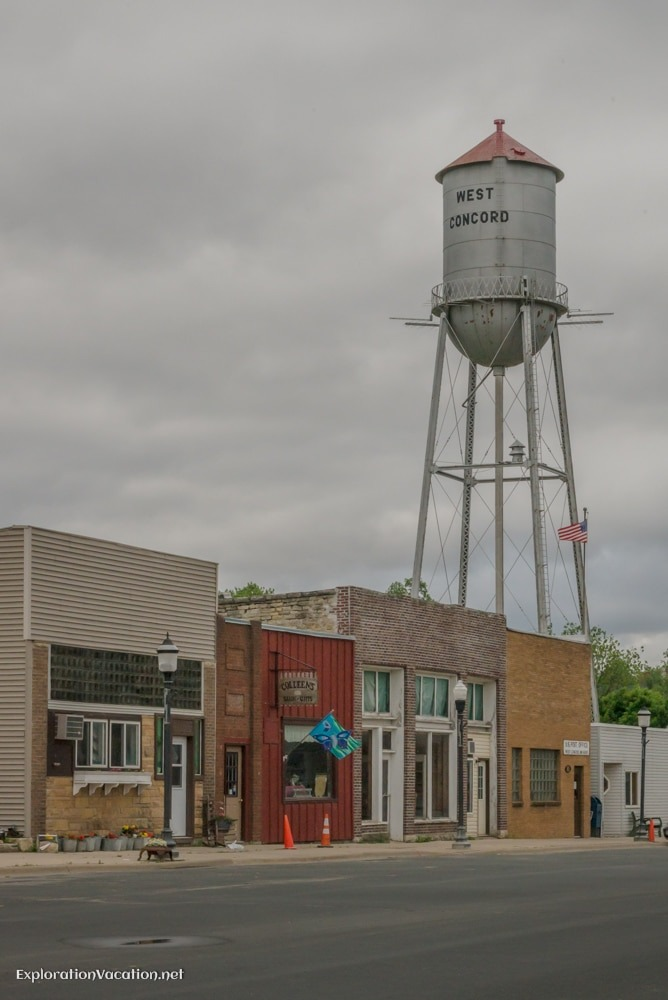 West Concord Minnesota watertower