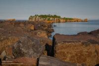 Silver Bay Marina at sunset