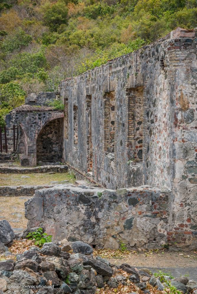 Annaberg sugar mill ruins