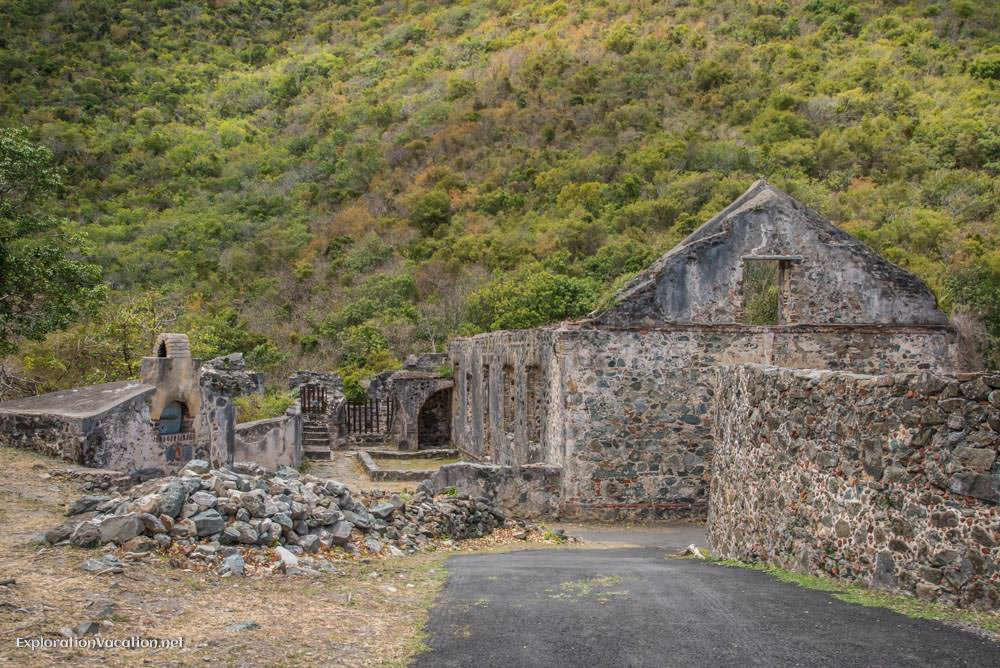 Annaberg sugar mill ruins St John US Virgin Islands - ExplorationVacation.net