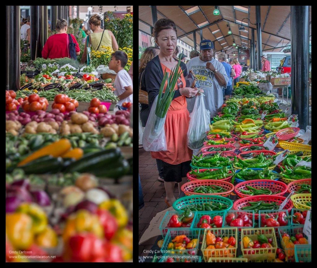 Saint Paul farmers market