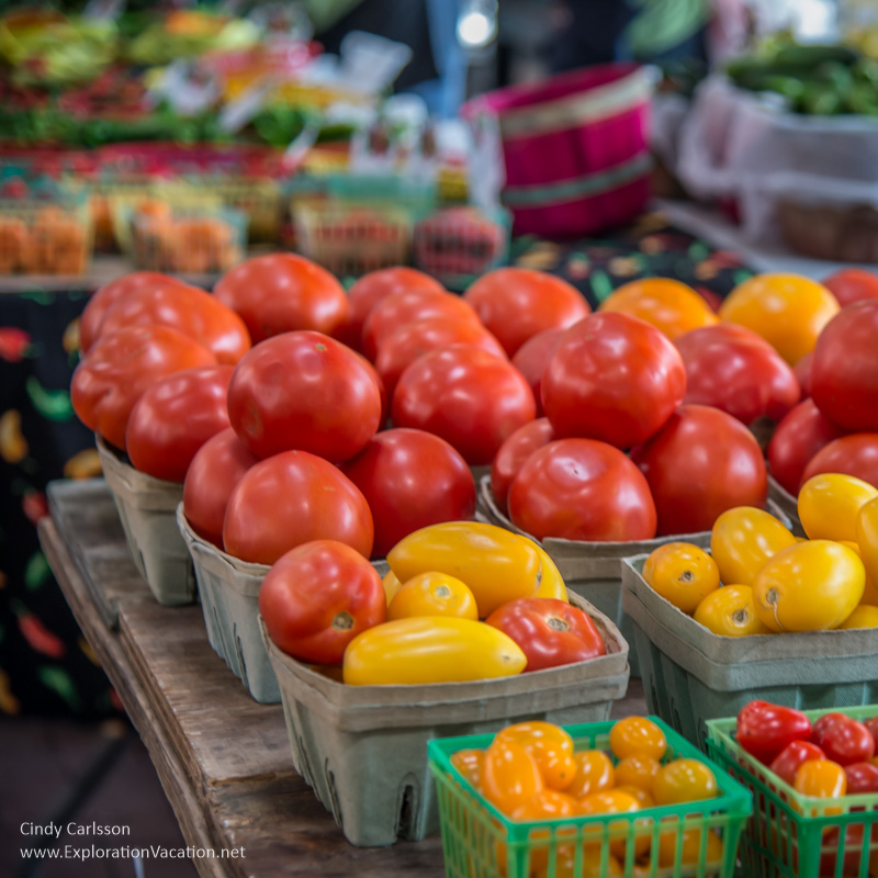 tomatoes and more Saint Paul farmers market