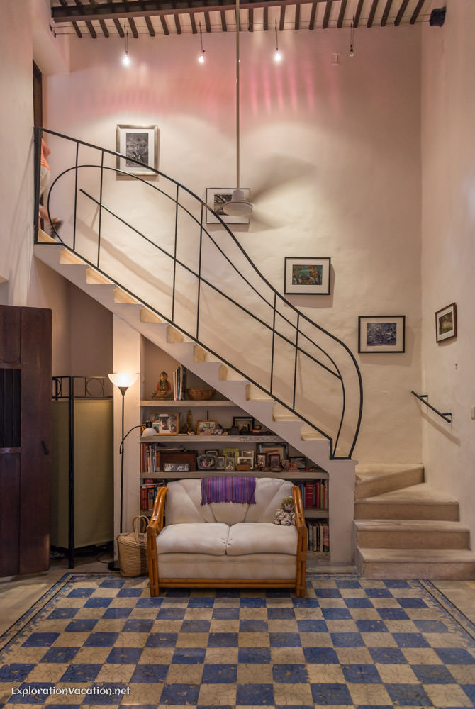 stairway - house tour in Merida