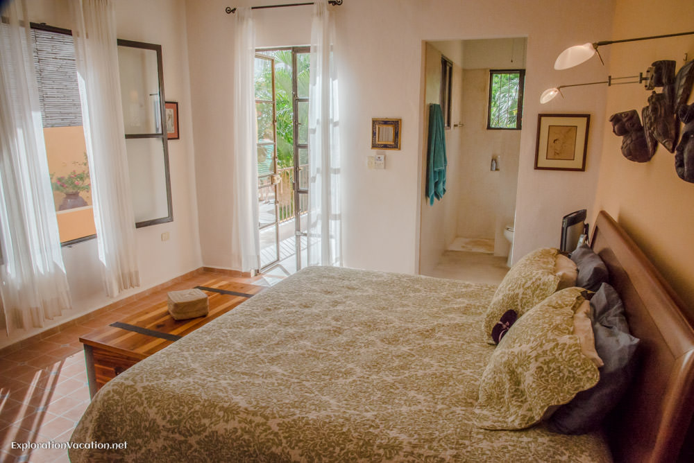 bedroom - house tour in Merida