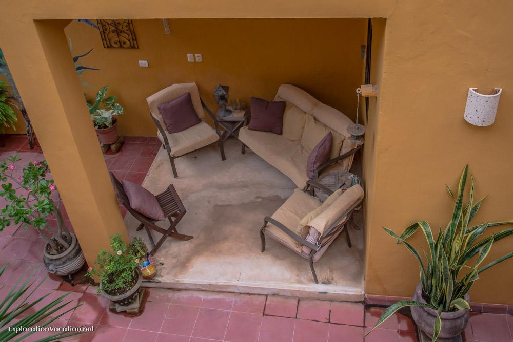 patio - house tour in Merida