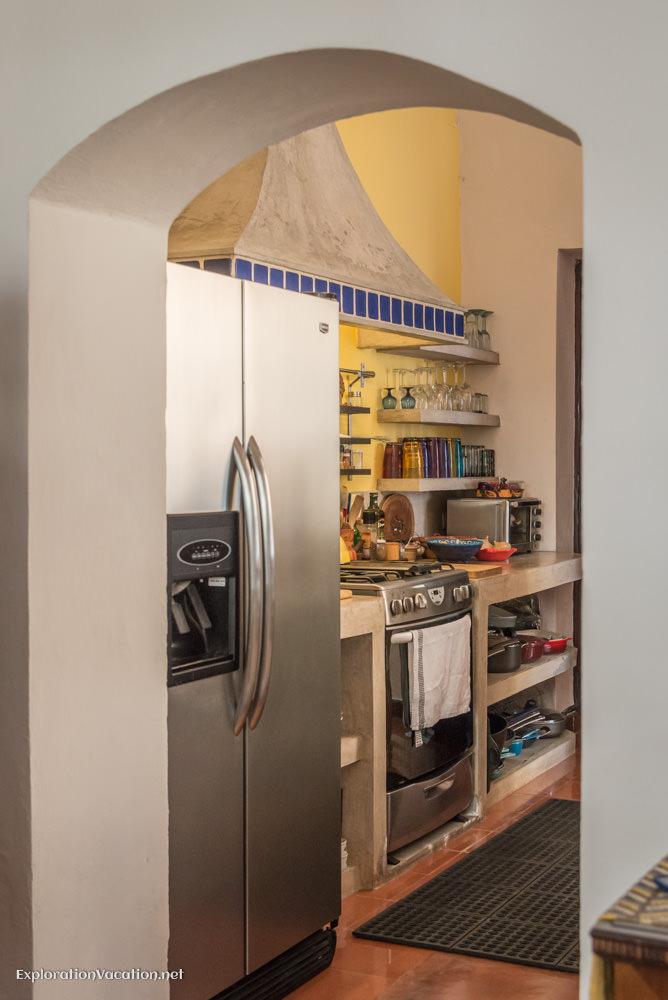 kitchen - house tour in Merida
