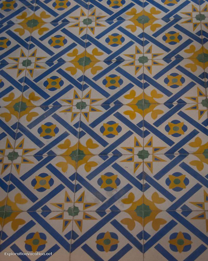 tile floors House tour in Merida