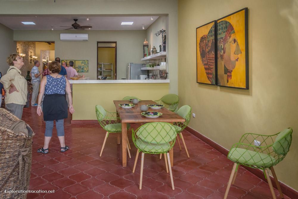 kitchen house tour in Merida
