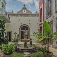 courtyard of La Calle Escondida Merida