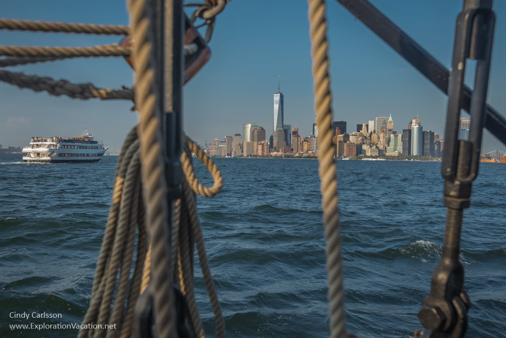 Manhattan throug the lines