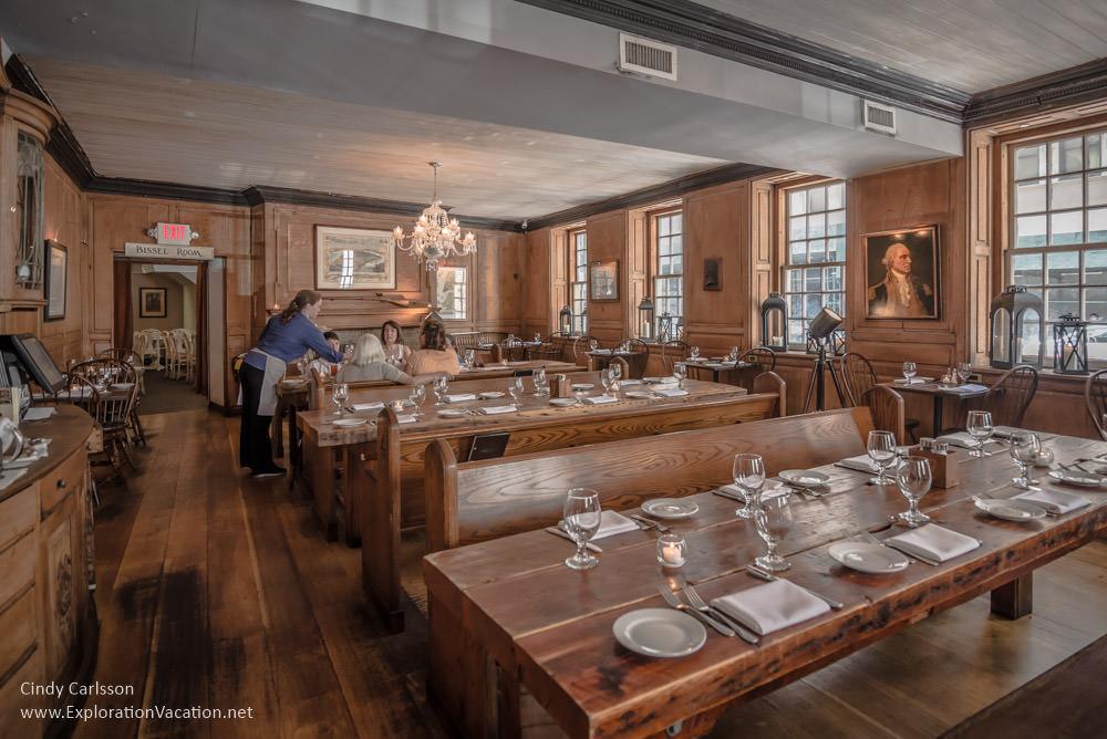 dining room Frauces Tavern