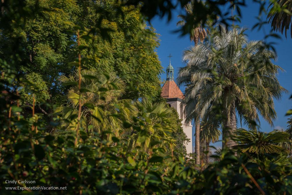 steeple Mission Santa Clara de Asís