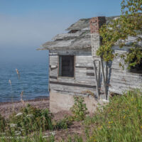 fish shack Lake Superior