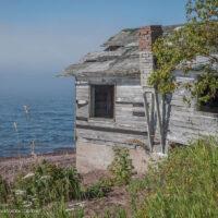 fish shack Lake Superior
