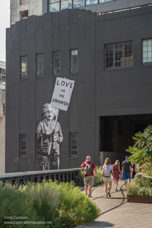 street art and high line