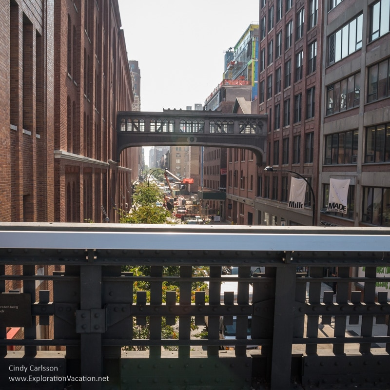 street view from th High Line