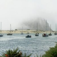 rock in Morro Bay