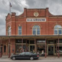 mercantile building Historic Gruene Texas - ExplorationVacation.net