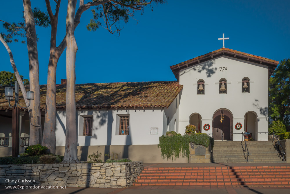 Mission San Luis Obispo California -ExplorationVacation.net