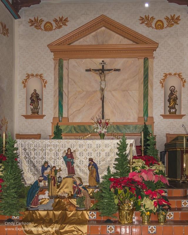 main altar Mission San Luis Obispo California -ExplorationVacation.net