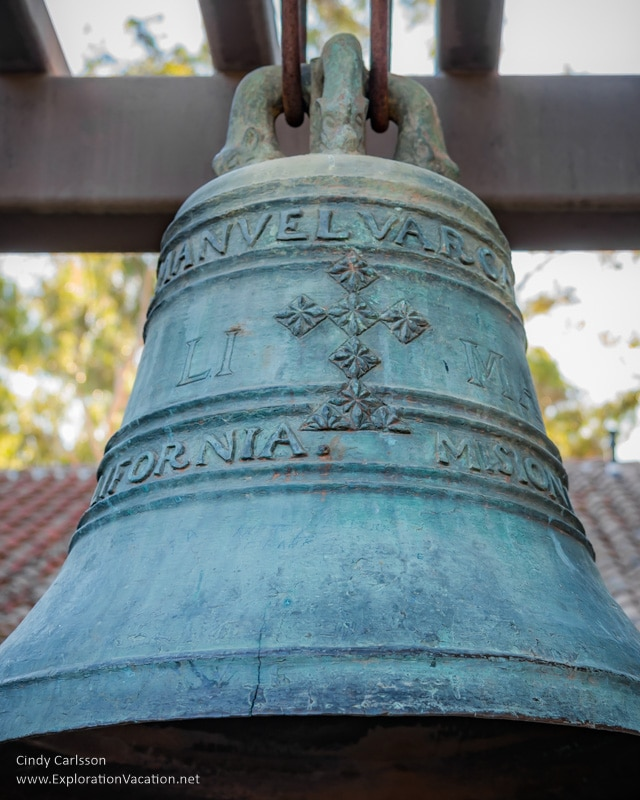 bell Mission San Luis Obispo California -ExplorationVacation.net