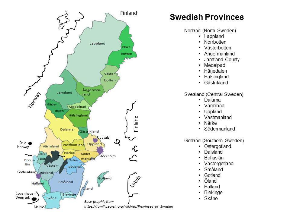 Sweden mpa from familysearch.org/wiki/en/provincesOF__sweden