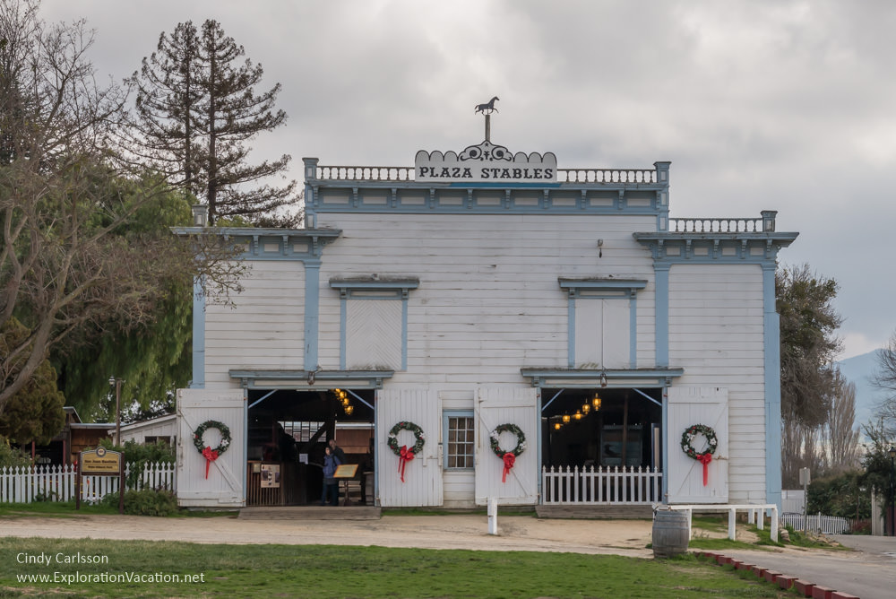 Plaza stable San Juan Bautista California