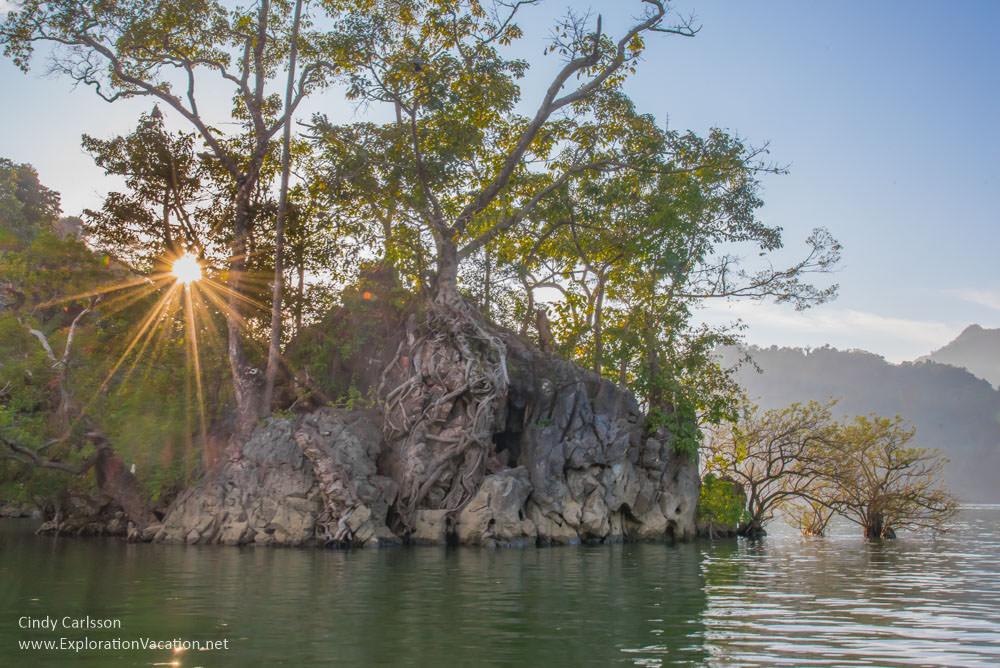 sunshine at Ba Be Lake Vietnam - ExplorationVacation
