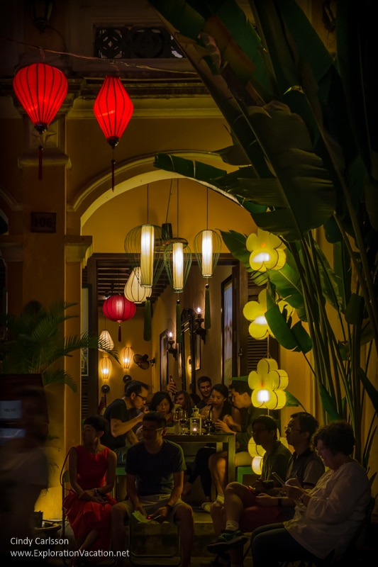 dining in Hoi An Vietnam - ExplorationVacation.net