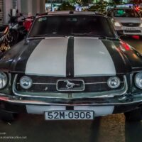 1967 Mustang in Saigon Vietnam - ExplorationVacation.net